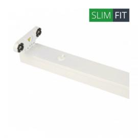 LED TL armatuur 60 cm | dubbel | IP22 | EcoSlim