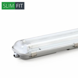 LED TL armatuur 60 cm   dubbel   IP65   SlimFit
