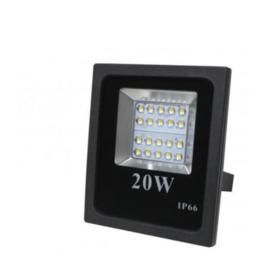 LED Floodlight   Bouwlamp   20W   4500K   IP66