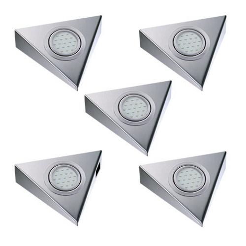 THEBO   Triangle   2,8W   5 keukenspots   schakelaar