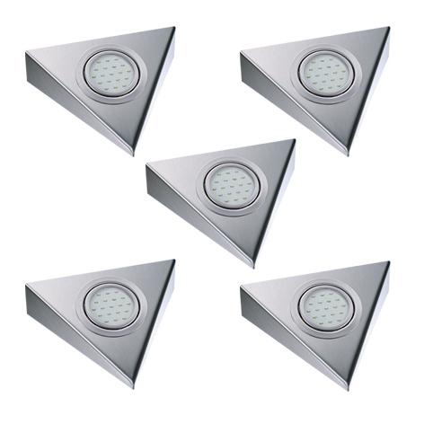 Keukenverlichting | THEBO Triangle | 1,5W | set van 5