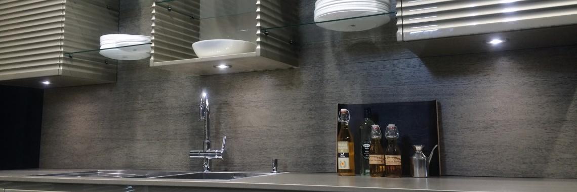 HERA | Keukenverlichting | FR-55 | Zwart