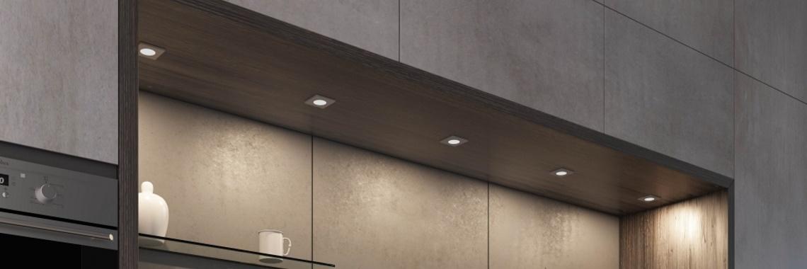 HERA | Keukenverlichting | FR-68 | Zwart