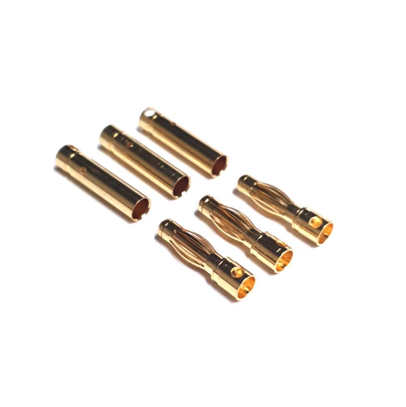Bullet Connectors 4 mm