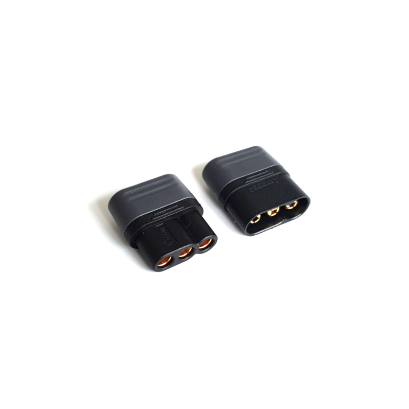 MR60 Connector Pair BLACK
