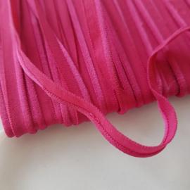 elastisch paspel roze
