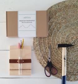 Creatief Woonpakket Muurbloemvaasje