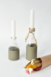 Creatief Woonpakket Kaarsenvaasje pimpen