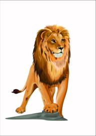 Dieren poster leeuw