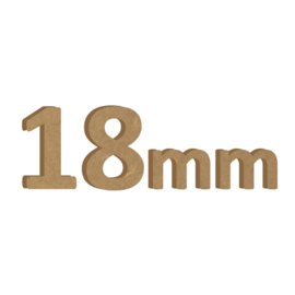 18mm MDF