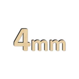 4mm Berken