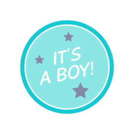 It's a boy sticker 2
