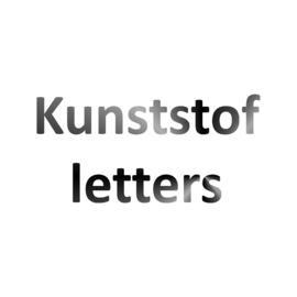Kunststof letters