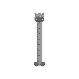 Groeimeter nijlpaard