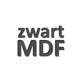 Zwart MDF