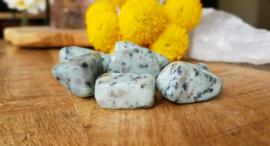 Kiwi Jaspis trommelsteen 10-20 gram