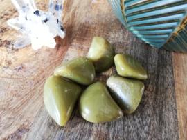 Groene opaal trommelsteen 10-20 gram