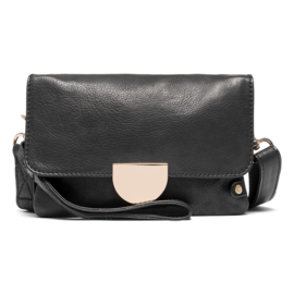DEPECHE. || Clutch Leather Black