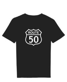 T-shirt route 50