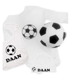 voetbal krat  met naam