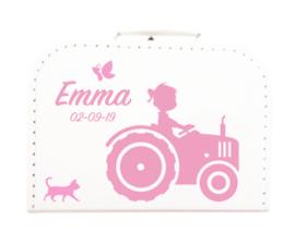De leukste koffertjes met naam en afbeelding!