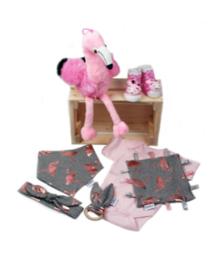 geboorte box flamingo