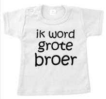 T-shirt ik word grote broer.