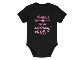 romper mama's eerste moederdag met naam van het kind
