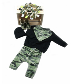 geboorte krat camouflage