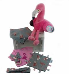 geboorte krat flamingo klein