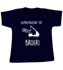 T-shirt  vind je mij niet stoer/ grote broer