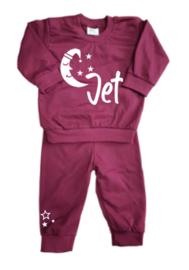 Pyjama maan met slaapmuts