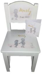 Geboorte stoeltje Silhouette