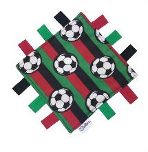 Tutteldoekje rood, zwart en groen