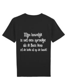 T Shirt mijn huwelijk is net een sprookje