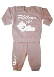Pyjama slaap beertje slaap