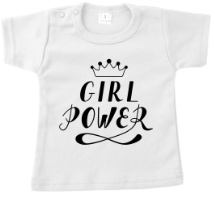 T-shirt girl power.