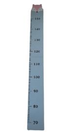Groeimeter van hout licht blauw  vos