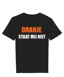 T-Shirt oranje staat mij niet
