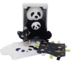 geboorte cadeau box panda