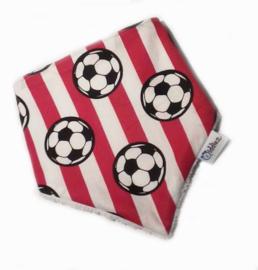 Bandana bib/ slabber voetbal.