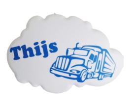 wolkenlamp vrachtwagen