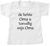 T-shirt de liefste oma.