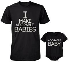 Leukste T-shirts voor volwassenen, kinderen en babies!