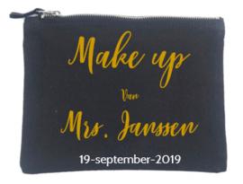 Make-up tasje / etuitje gepersonaliseerd