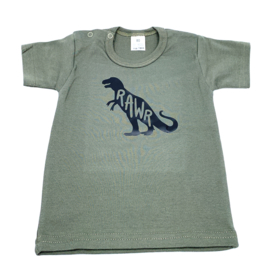 T-shirt - Dinosaurus Rawr