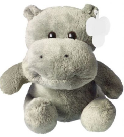 Knuffeltje Hippo 17 cm