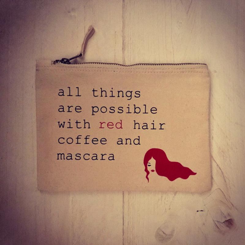 Make-up tasje Red hair