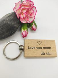 Sleutelhanger - Love you mom