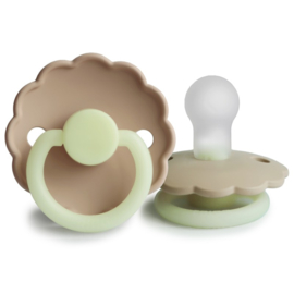 FRIGG - DAISY NIGHT - Fopspeen SILICONE - CROISSANT